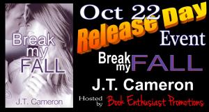 Break My Fall Release Day Event Banner