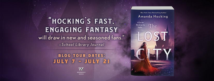 The Lost City Blog Tour banner--FB